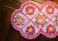 Receitas Círculo - Tapete Floral Multicolor