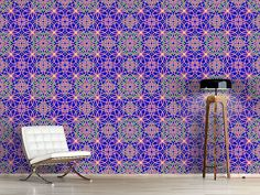 Design #Tapete Metro Floral