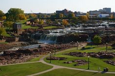 Sioux Falls, SD. Snowed in for 3 days on the drive back from Alaska.