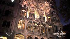 The works of Antoni Gaudi, Barcelona - Lonely Planet travel video, via YouTube.  I was lucky to see some of these works!