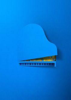 Intel by Eiko Ojala, via Behance #Advertising #Publicidad