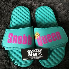 Thank you @goody2shoes_ for my custom slides!!! They're soooooo Cute and comfortable!!! Feels like you're walking on a cloud☁️ SHOP & FOLLOW @goody2shoes_ SNOBB QUEEN BLOGG   #fashion #style #stylish #love #InstaTags4Likes #fashionblog #cute #photooftheday #nails #hair #beauty #beautiful #instagood #instafashion #pretty #girly #hot #vacation #girls #sandals #promotion #makeup #summer16 #promo #lashes #maternity #slides #sneakerhead