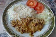 Vepřové kotlety na hořčici - Recepty.cz - On-line kuchařka Grains, Rice, Meat, Chicken, Food, Essen, Meals, Seeds, Yemek