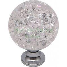 Nábytková knopka Crystal 01