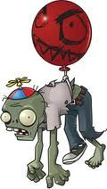 cute idea... i'll draw that face on a few balloon and tie a zombie to them to float around the party