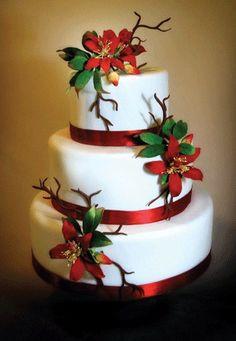 Holiday cake. #eggnog