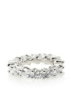 65% OFF Cz by Kenneth Jay Lane Eternity Cz Ring