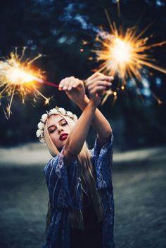 Inspiração  Ensaio de Fotos de 15 anos com Vela Estrela