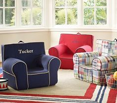 Boys' Anywhere Chair Collection #PotteryBarnKids..I think I just found Brody's Christmas present :)