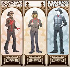Steam Powered Giraffe (by ~olafpriol on deviantART)