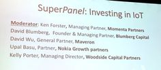 #iotworld16 Investing in #IoT panel: 844 investment companies, over 1200 deals. Record deal flow past year. - Twitter Search