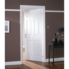 Find Colonial 6 Panel White Painted Internal Door - 762mm Wide at Homebase. Visit your & Bu0026Q - 4 Panel White Smooth Internal Glazed Door could match our ... pezcame.com