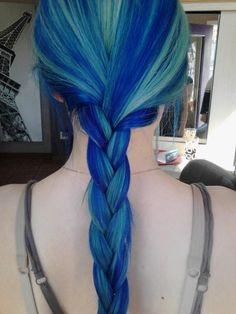 Blue Pastel Braid - Hairstyles How To