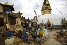 Katmandú, antes y después del terremoto en Nepal | Actualidad | EL PAÍS