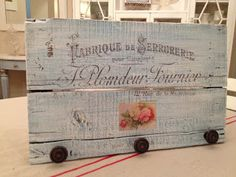 Ramshackle Romance - designs by Deborah N. Smith: For the Love of old.......wood?