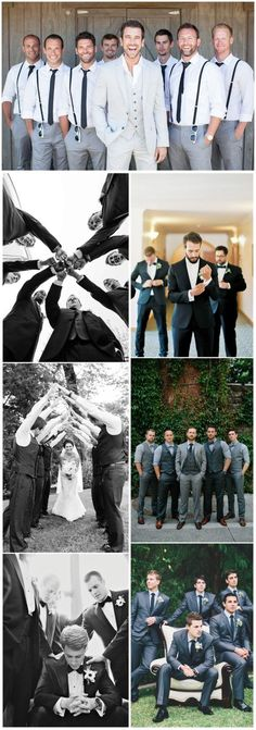 Wedding Photography » 21 Must-have Groomsmen Photos Ideas to Make an Awesome Wedding » ❤️ See more: http://www.weddinginclude.com/2017/03/must-have-groomsmen-photos-ideas-to-make-an-awesome-wedding/