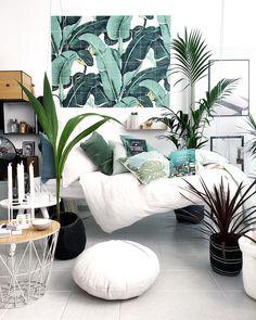 Big Move, Decoration, Plant Hanger, Ladder Decor, Bedroom, Architecture, Munich, Rum, Interior
