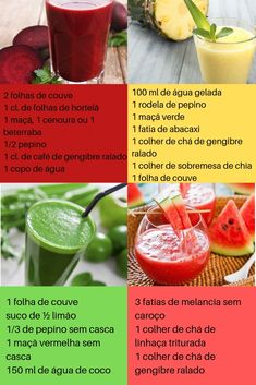 Healthy Food Blogs, Healthy Lifestyle, Healthy Recipes, Healthy Juices, Healthy Drinks, Bebidas Detox, Chocolate Slim, Detox Soup, Dietas Detox