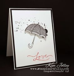 Stampin Artfully: Weather Together Valentine's Day Card