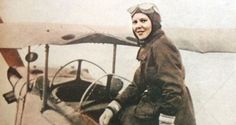 Sabiha Gökçen (1913-2001) was the first female Turkish aviator. She was one of Mustafa Kemal Atatürk's adopted daughters; he gave her the family name Gökçen, which literally translates to 'belonging to the sky'. She was the first woman to enrol in the Turkish Aeronautical Association, and the first to get her pilot's license. She flew bomber and fighter planes, and was awarded for her superior performance. Today, one of Istanbul's international airports is named in her honour.
