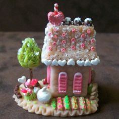 Whimsy Love Sweet Shop  Whimsy House Series of Tiny by wonderworks, $85.00