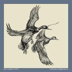 duck tattoo images | duck tattoo ideas pic 12 www tattoodonkey com 184 ...