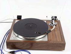 Thorens & Imp tonearm refurbished to high standard Vinyl Record Player, Record Players, Vinyl Records, High End Audio, Record Collection, High Standards, Audiophile, Turntable, Speakers