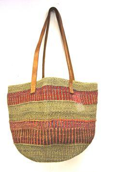 Vintage Woven Sisal Bag