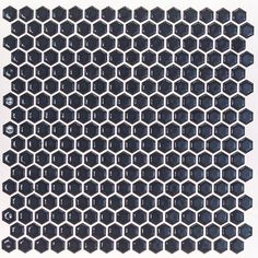 """Found it at Wayfair - Bliss 0.6"""" x 0.6"""" Ceramic Mosaic Tile in Midnight Blue"""