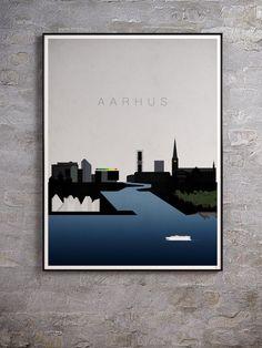 Aarhus Metal Thin 80x60cm