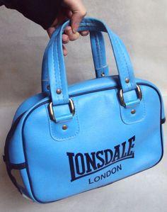 Lonsdale London Handbag Vintage