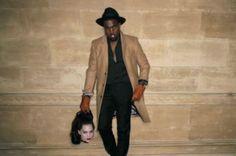 Kanye West Monster x camel coat