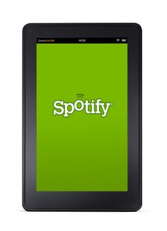 Spotify on the Kindle Fire