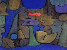 """Paul Klee(1879-1940) """" Underwater Garden."""""""
