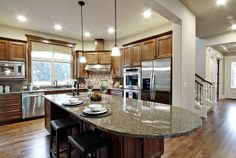 Great kitchen by The Burnsteads -- The Woods at Beaver Lake, Sammamish, WA