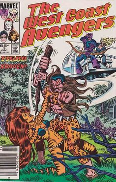 West Coast Avengers The West Coast Avengers first appear in 1984 in a four-issue limited series published from October to January 1985. The series was written by Roger Stern, and drawn by Bob Hall and Brett Breeding.