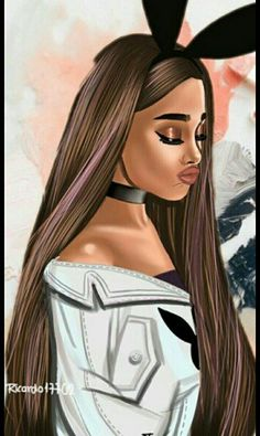 New Wall Paper Girly Queen Ideas Ariana Grande Fotos, Ariana Grande Images, Ariana Grande Anime, Ariana Grande Drawings, Ariana Grande Tumblr, Wallpaper Ariana Grande, Ariana Grande Background, Adriana Grande, Cute Girl Drawing