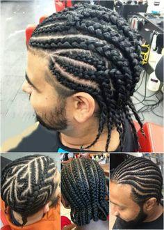 Superb Cornrow Style For Men And Cornrows On Pinterest Hairstyles For Women Draintrainus