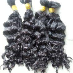 Single Drawn Remy Hair Extension Wavy/Curly | Unihair Vietnam