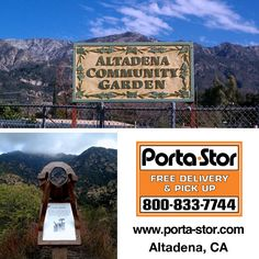 Need to Rent Portable Storage Containers in Altadena? Call to Rent Portable Storage Container in Altadena