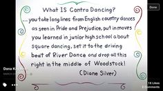 This sums up contra dancing!!