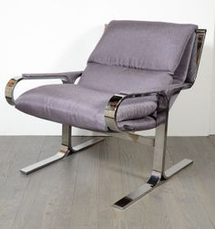 Stunning Modernist Occasional/Arm Chair by Osvaldo Borsani | From a unique collection of antique and modern armchairs at http://www.1stdibs.com/furniture/seating/armchairs/