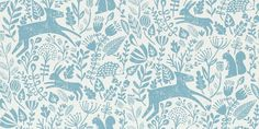 Kelda Cobalt wallpaper by Scion