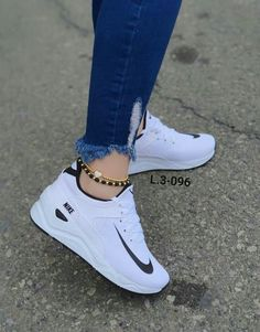 Source by tennis shoes - Source by tennis shoes - White Nike Shoes, Nike Air Shoes, Adidas Shoes, Cute Sneakers, Sneakers Mode, Jordan Shoes Girls, Girls Shoes, Tennis Shoes Outfit, Casual Shoes