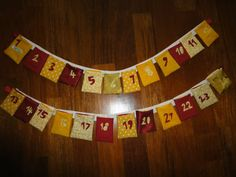 DIY advent calendar - by törtelyourlife Diy Advent Calendar, M 4, Christmas Tree, Holiday Decor, Home Decor, Teal Christmas Tree, Decoration Home, Room Decor, Xmas Trees