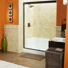GET THIS LOOK IN YOUR #BATHROOM U2013 #ReBath Walk In Shower With Rock Creek