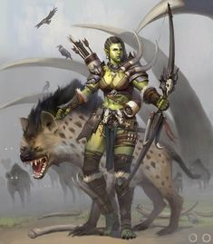 Beautiful Science Fiction, Fantasy and Horror art from all over the world. Orc Warrior, Fantasy Warrior, Fantasy Rpg, Medieval Fantasy, Fantasy Girl, Fantasy Artwork, Fantasy Character Design, Character Inspiration, Character Art