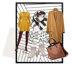 """""""its winter!"""" by lindacorp on Polyvore featuring Forever 21, Miss Selfridge, Burberry, Chinese Laundry and winterscarf"""