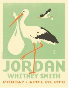 Baby posters. This one is very similar to Hohlwein's Zoo posters.