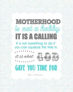 Free-Motherhood-Printable